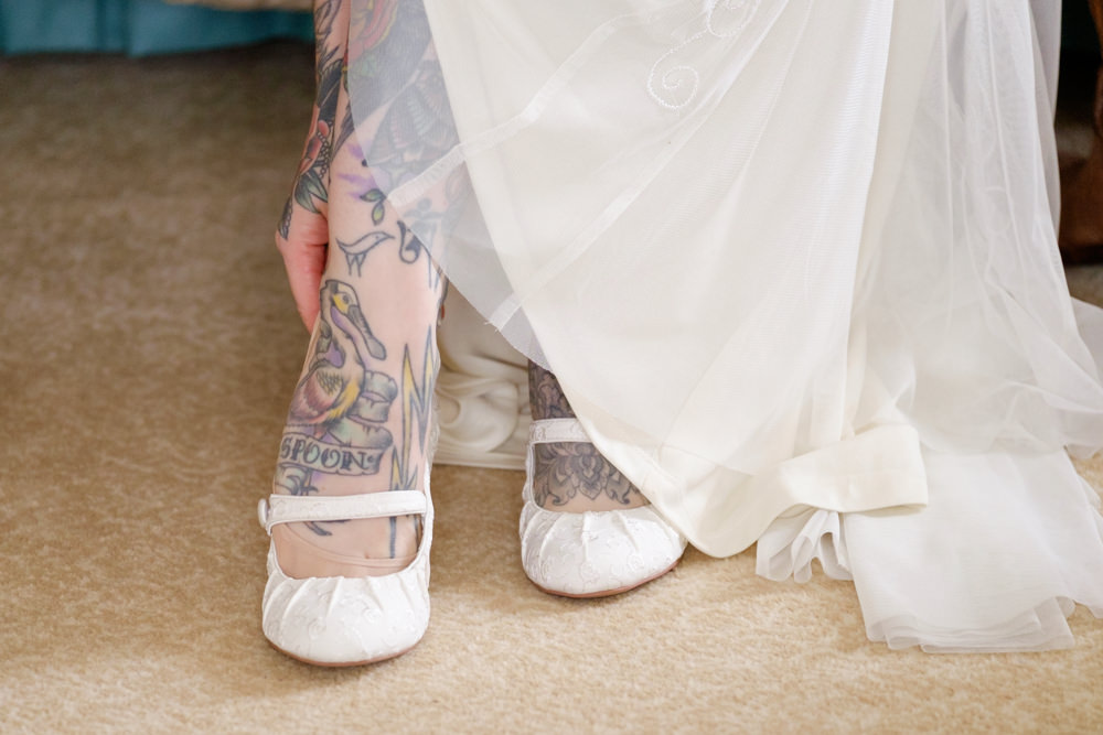 tatooed bride