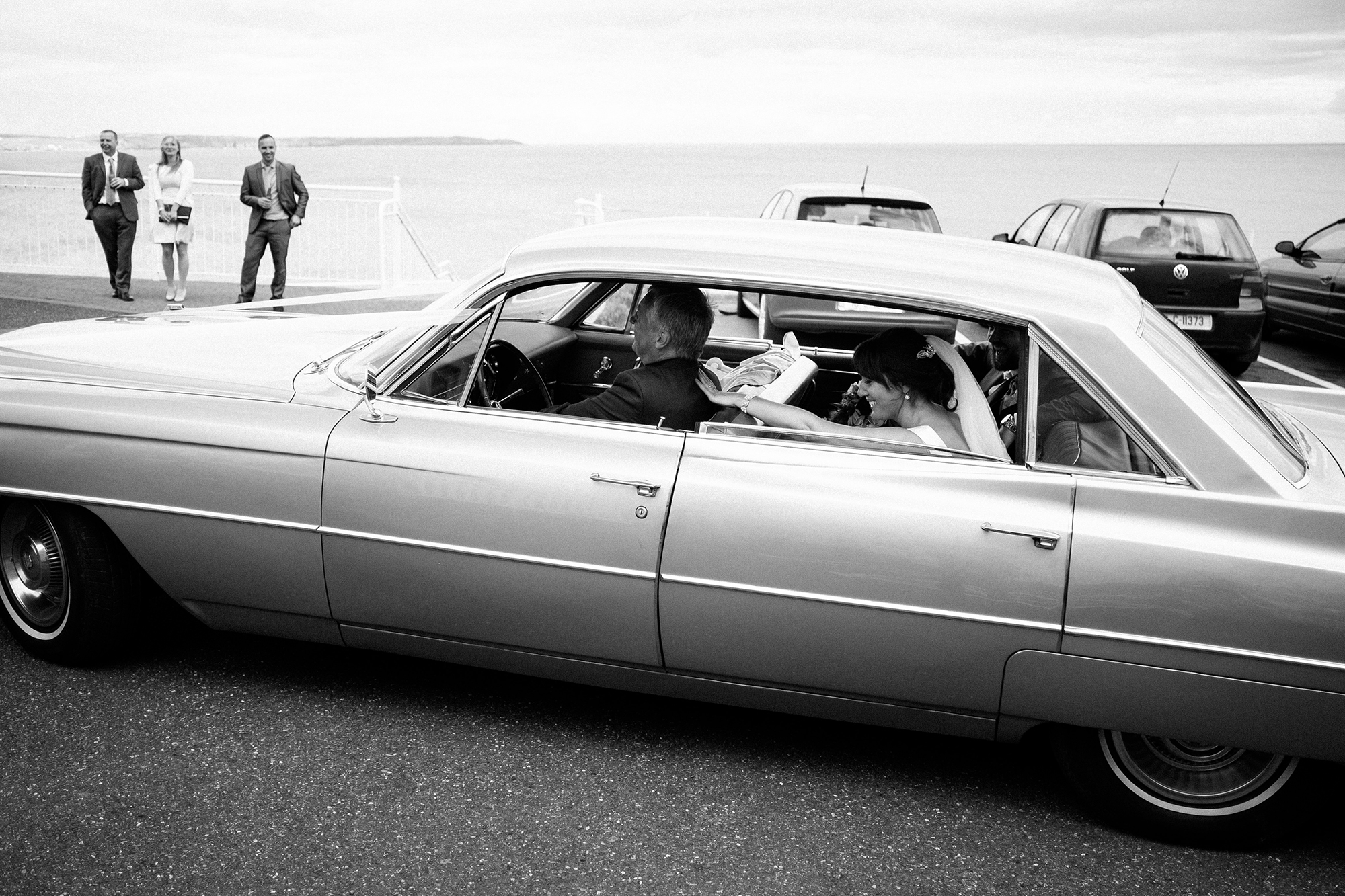 vintage cadillac west cork wedding