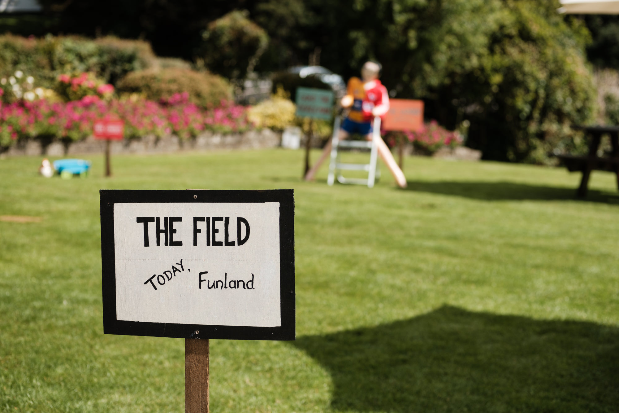 The Field, Fr Ted themed wedding