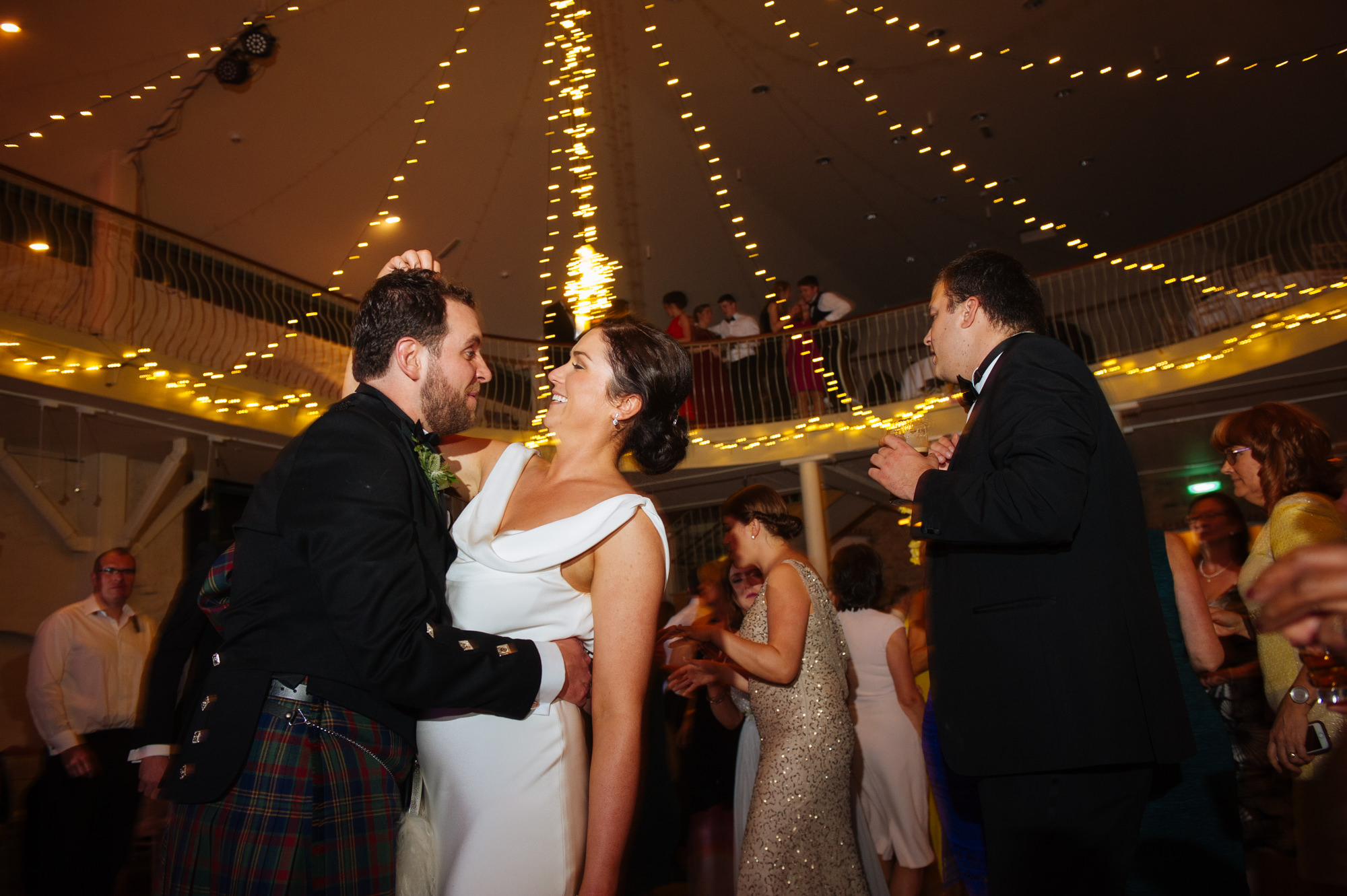 wedding dancing at the Grainstore, Ballymaloe