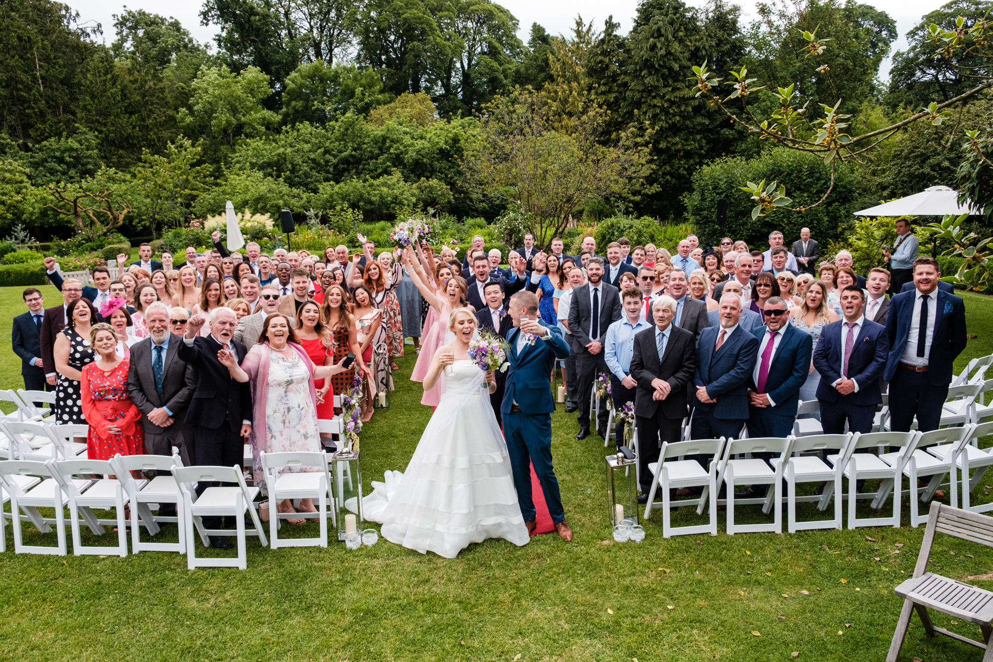 Rathsallagh wedding group photo